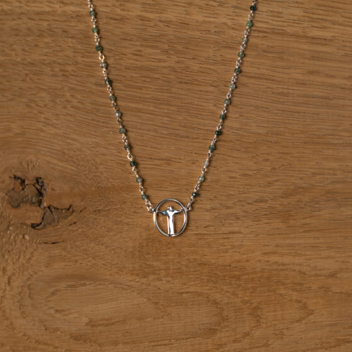 CoeurEnvie - Corcovado cercle pierres argent - bijoux