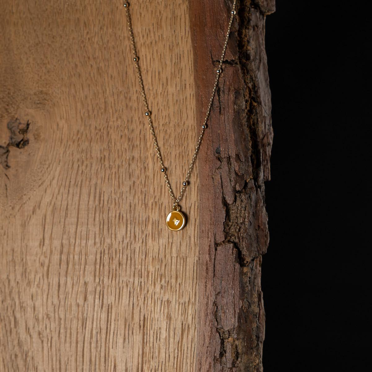 CoeurEnvie - collier croix or - bijoux