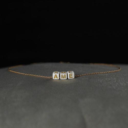 CoeurEnvie - collier ame or acidulés - bijoux