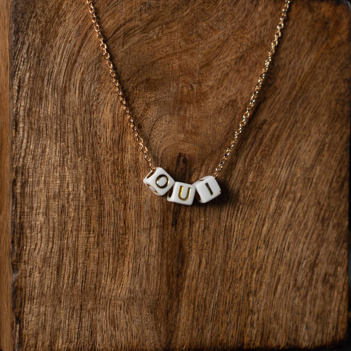 CoeurEnvie - collier oui or acidulés - bijoux