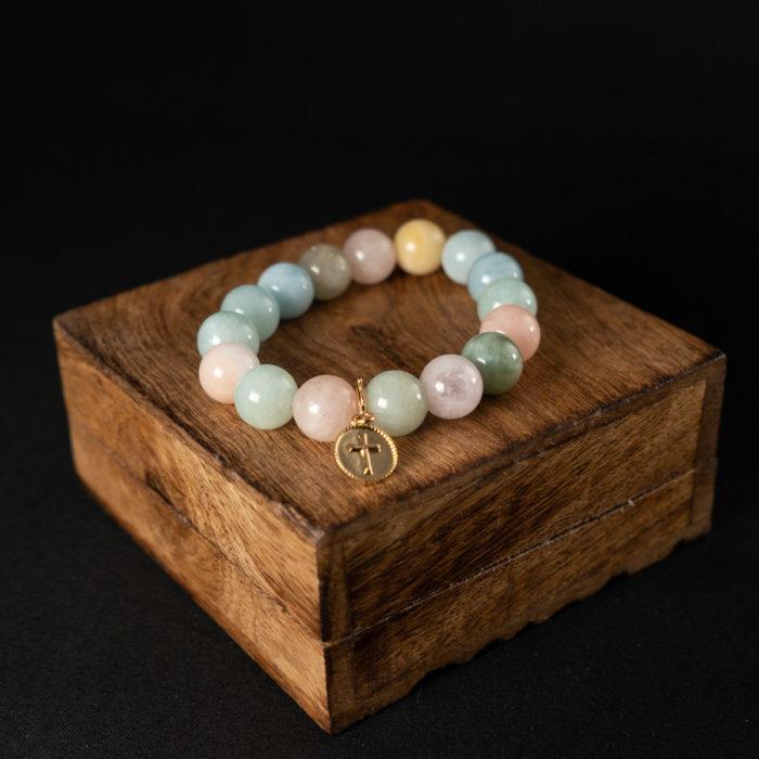 Coeur Envie - bracelet perles - bijoux