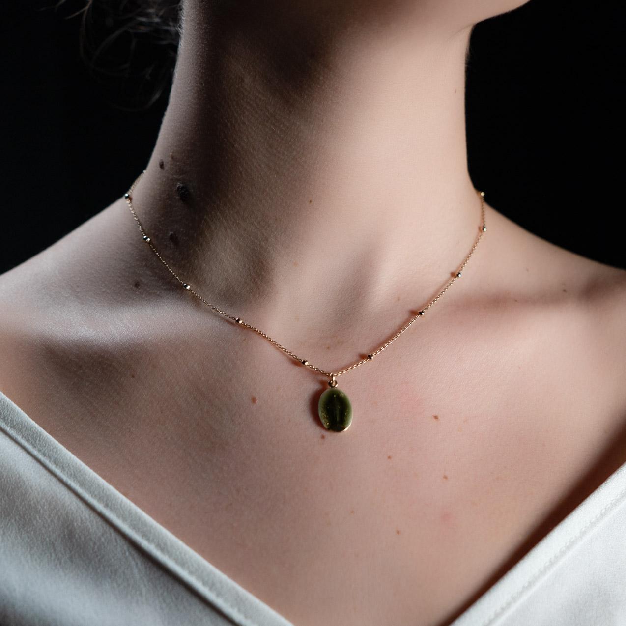 Coeur Envie - Marie vert or - bijoux