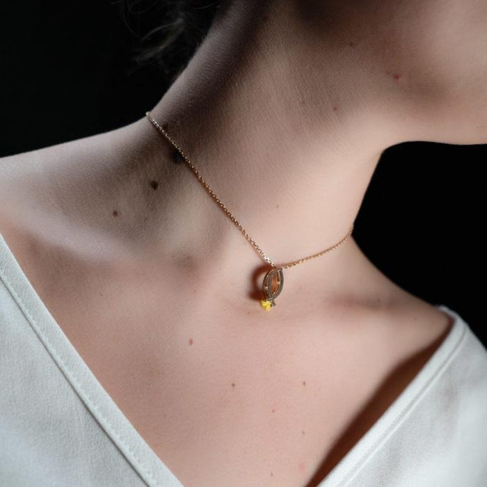 Coeur Envie - poisson or - bijoux