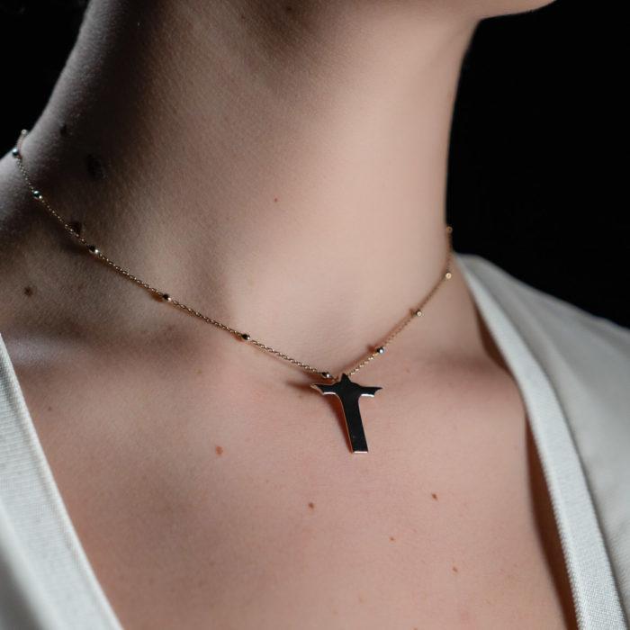 Coeur Envie - collier Corcovado or grand perles - bijoux