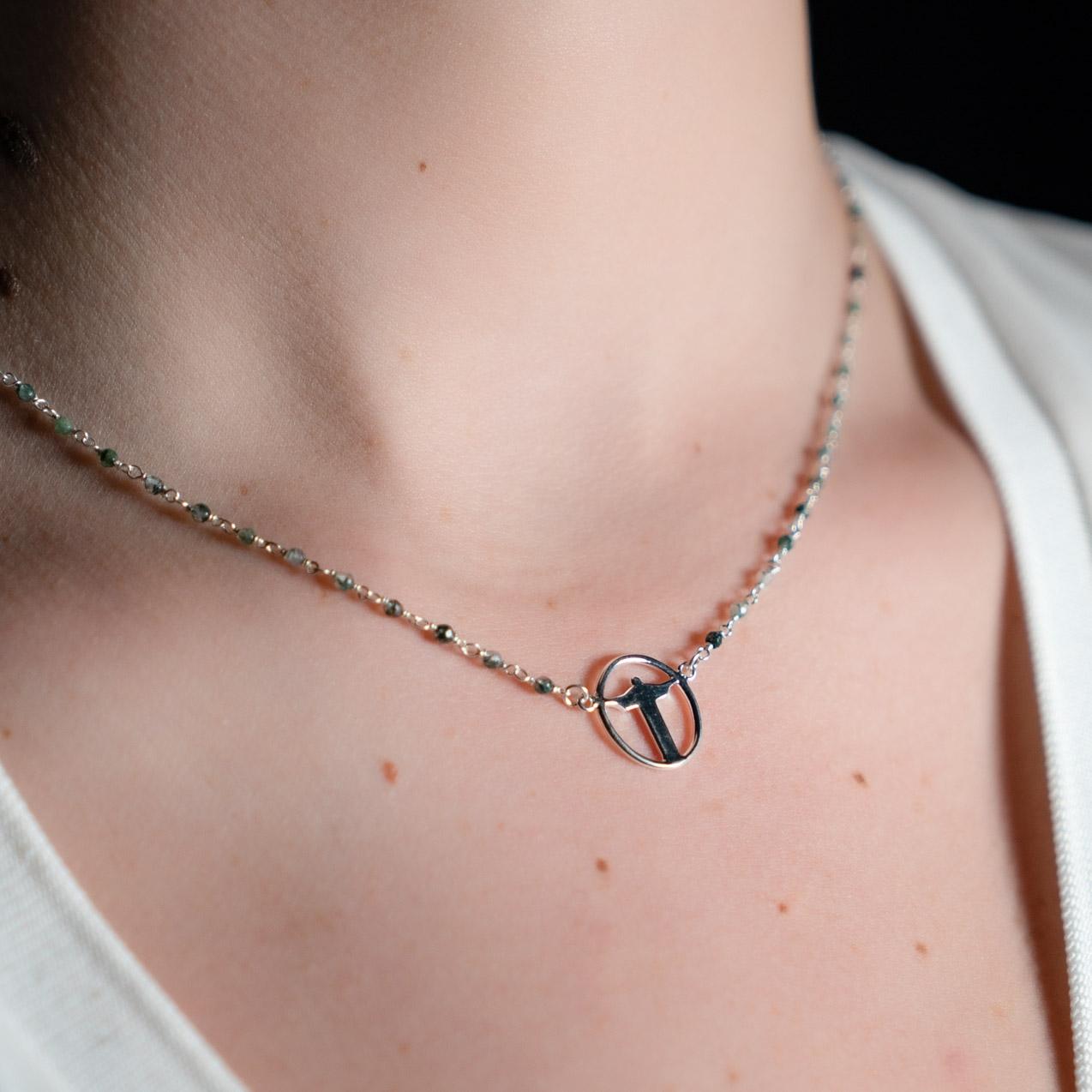 Coeur Envie - collier Corcovado cercle perles - bijoux